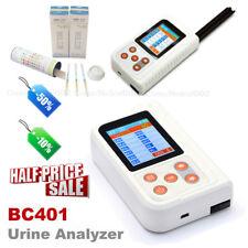 BC401 Handheld Digital Urine Analyzer with 100PCS Test Strips Urine Tester,USA