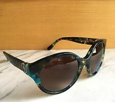 1a18a88eea Nice Tory Burch Polarized Sunglasses Blue Mosaic   Brown Gradient TY7087  3145 T5