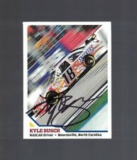 Kyle Busch NASCAR Race Driver Signed SI For Kids Magazine Card W/Our COA