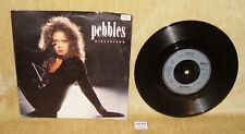 "PEBBLES - GIRLFRIEND B/W INSTRUMENTAL MCA1233 1987 PS 7"" VINYL RECORD PERRI REID"