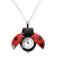 Red Ladybug Necklace Pendant HOT PK S4U8