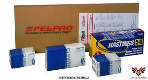 Chevy Chevrolet 327 350 Sbc 68-79 Felpro Hastings Clevite Premium Re Ring Kit