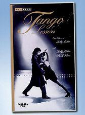 TANGO LESSON Sally Potter VHS Pablo Veron KULT ArtHaus TANZ Leidenschaft KUNST