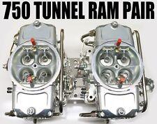 NEW OLD STOCK MIGHTY DEMON 5402010TR ZINC CARBURETORS GAS TUNNEL RAM PAIR