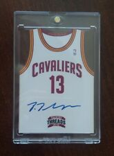 PANINI THREADS 2012-13 TEAM JERSEY TRISTAN THOMPSON RC ROOKIE AUTO
