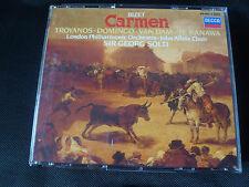 Bizet Carmen Troyanos Domingo Van Dam Georg Solti Te Kanawa (Triple CD 1985)