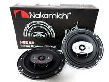 """Nakamichi NSE 66 6"""" 2-Way Coaxial Car Stereo Speakers 380W"""