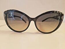 New Swarovski Cat Eye Plastic Sunglasses MOD DAISY SW55 58mm Made in Italy