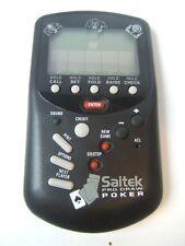 Saitek Pro Draw Poker Electronic Handheld Game Tested Works