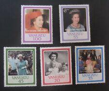 Vanuatu 1987 40th wedding ann  MNH UM unmounted mint