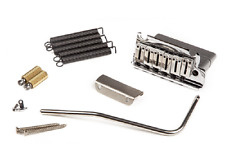 Fender American Deluxe 90s Chrome Tremolo Assembly w/Offset Saddles 007-7092-049