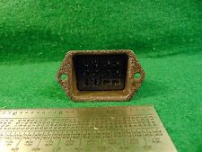 (1) Cinch Jones S-312-DB Female 12 ckt Plug Assembly NOS