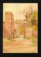C.A. Grove - Late 19th Century Watercolour - West Gate on Sea