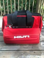 Hilti Heavy Duty Construction / Tool Bag - Red / Black with Shoulder Strap