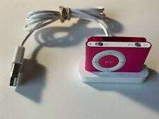 Apple iPod Shuffle 2nd Generation Pink (1 GB) & Charging Dock - A