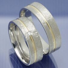 Trauringe Eheringe Hochzeitsringe Verlobungsringe Silber Gold - P9159225