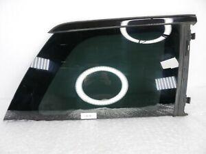 07-12 Mercedes X164 GL450 Rear Right Side Door Quarter Window Glass /w Moulding