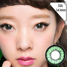 Lentilles de Contact Vert Color Contact Circle Lenses Dia14,2mm AcGr