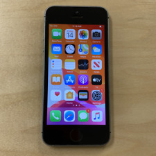 Apple iPhone SE - 128GB - Gray (Unlocked) (Read Description) CA1110