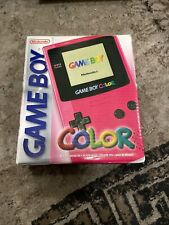 Nintendo Game Boy Color Pink Handheld-Spielkonsole in OVP