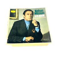 DG Stereo 3LP Bach Sonatas & Partitas for violin complete Nathan Milstein Vinyl