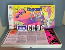 Jem And The Holograms Concert Clash Board Game Outrageous Tape Milton Bradley