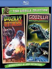 Godzilla vs. Destoroyah/Godzilla vs. Megaguirus (Blu-ray Disc, 2014, 2-Disc Set)
