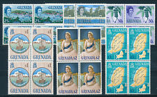 GRENADA 1966 DEFINITIVES SG240/245 (HIGH VALUES) BLOCKS OF 4 MNH