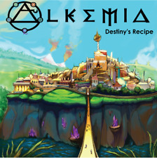 Alkemia Destiny's Recipe Board Game by KinSoul Studio W/Replacement Token Sheet