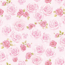 Pink Flower Wallpaper Designs Ideas Self Adhesive Vinyl Peel Stick Home Decor