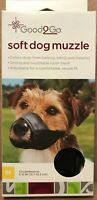 Good2Go Soft Dog Muzzle Soft Nylon Mesh Breathable Size Medium
