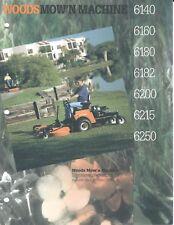 Lawn Equipment Brochure - Woods - 6140 6250 et al - Riding Mower - 1995 (LG59)