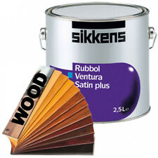 Sikkens Rubbol Ventura Satin Plus (Holzfarbtöne) 2,5l - Ventilationslack