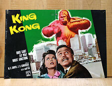 KING KONG fotobusta poster Bruce Cabot Fay Wray Robert Armstrong Sci Fi BZ48