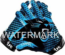 """Carolina Panthers  4LIFE   6"""" Auto Car Or Wall Glossy Vinyl Decal Glove Stickers"""