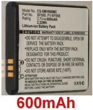 Batterie 600mAh Art BP88B EA-BP88B PV-BP88B für Samsung EC-MV900FBPWUS
