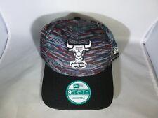 Chicago Bulls NBA New Era 9FORTY Snapback Adjustable Baseball Hat (MEN One-Size)
