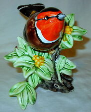Rare Vintage Stangl Art Pottery #3922 European Goldfinch Figurine