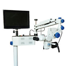 5 Steps Dental Microscope With Led Light Source Amp Accessories Free Shipping
