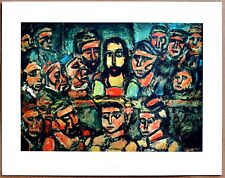 Georges Rouault The Judgement of Christ 1st Prnt Ltd. Ed Orig 1960 Lithograph