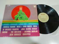 """Solo exitos Serrat Dalida Ornella Vanoni Gilla 1975 - LP vinyl 12 """" VG/VG 2T"""