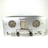 Pioneer RT-707 Silver Black Reel To Reel Tape Player Recorder Auto Reverse 100 W