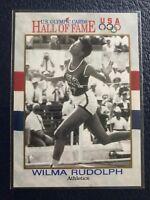 WILMA RUDOLPH~Gold Medalist  1991 Impel U.S. Olympic HOF Card #7