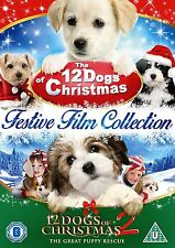 The 12 Dogs of Christmas 1 & 2 DVD FILM COLLECTION *NEW & SEALED FAST DISPATCH*