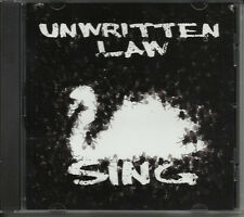 UNWRITTEN LAW Sing ULTRA RARE PROMO RADIO DJ CD Single 2011