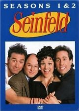 Brand New DVD Seinfeld: Season 1+2 (2005) Jerry Seinfeld Julia Louis-Dreyfus