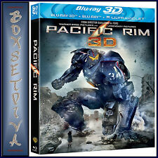PACIFIC RIM - Idris Elba  *BRAND NEW BLU-RAY 3D PLUS BLU-RAY - REGION FREE*