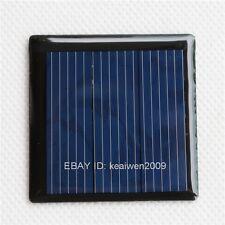 2PCS 1.5V 160mA 0.24W solar panel PV solar power PCB mini panels diy power