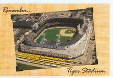 STADIUMS-DETROIT MICHIGAN OLD STADIUM (S-601)* TIGER STADIUM