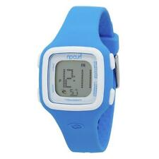 New Rip Curl Candy Digital Womens Silicone Wrist Watch A2466G Acid Blue 34mm #95